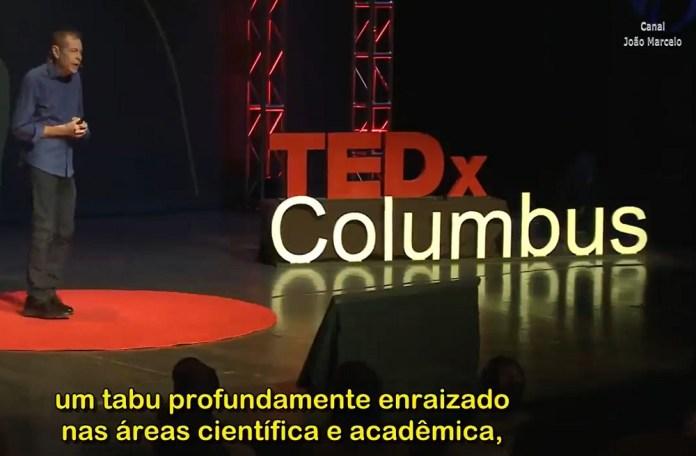 Palestra TEDx de Alexander Wendt sobre OVNIs - legendada em português