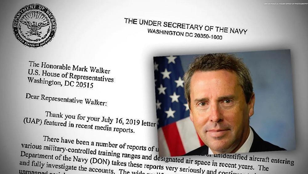Marinha dos EUA responde a questionamento sobre OVNIs