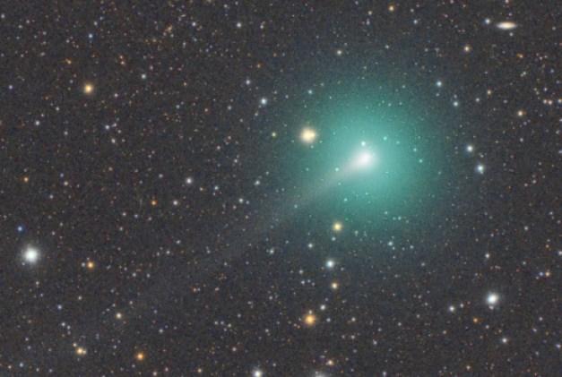 Sonda solar da ESA 'acidentalmente' passará pela cauda do cometa ATLAS