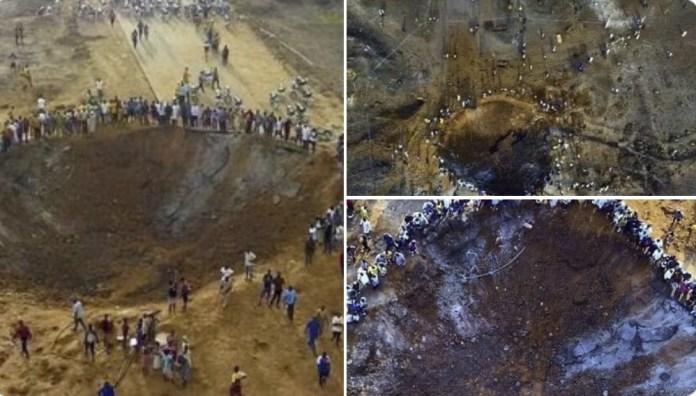 Possível meteoro causa enorme cratera na Nigéria