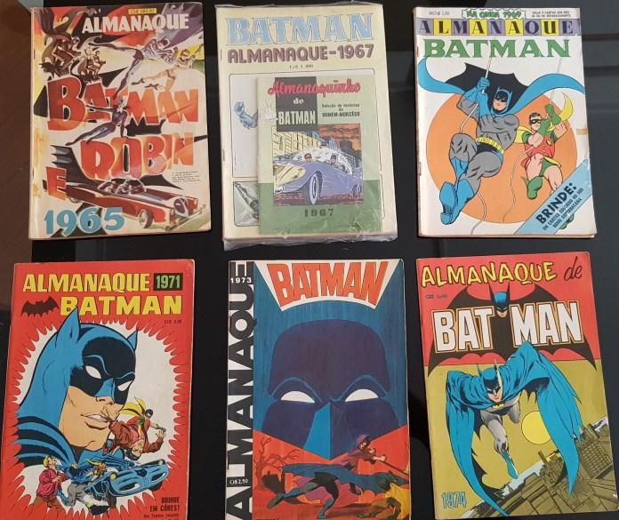 OVNI Hoje disponibiliza almanaques do Batman (décadas de 60 e 70) para angariar fundos
