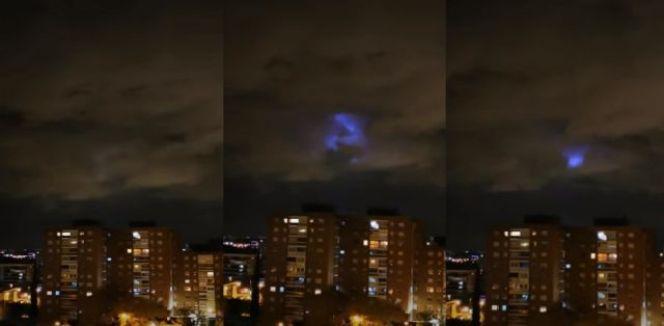 Luzes azuis misteriosas aparecem no céu de cidades pelo mundo