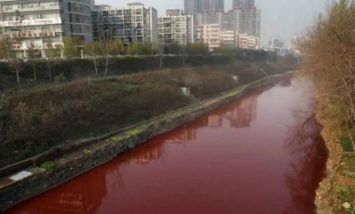 rios vermelhos