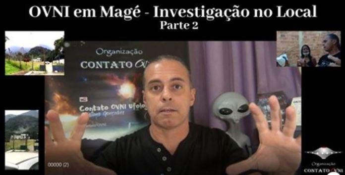 OVNI em Magé - Investigação no Local Parte 2