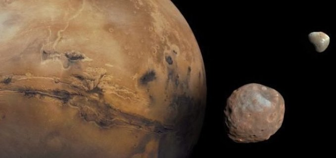 Anéis de Marte? Sim, o planeta vermelho pode ter tido anéis