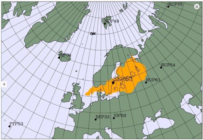 """""""Nada importante"""": Somente um pico de radiação detectado na Escandinávia"""