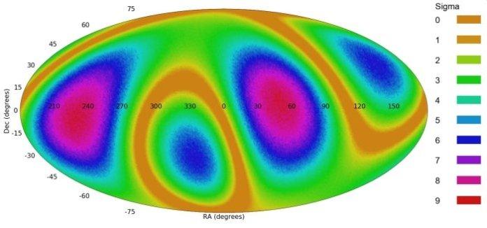 Padrões das galáxias espirais mostram que a estrutura do universo não é aleatória