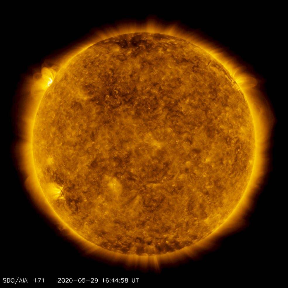 Explosões solares mais fortes em anos coincidiram com os tumultos nos EUA