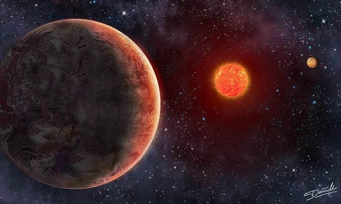 É descoberta outro sistema planetário com possibilidade de vida