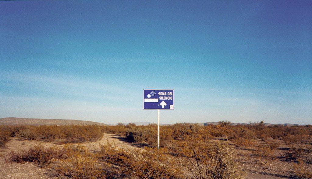 A zona do silêncio: anomalias no deserto do México