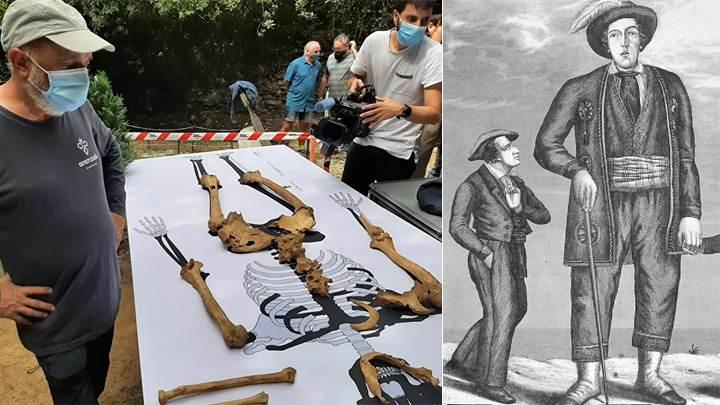 Foram encontrados os ossos de um lendário gigante espanhol