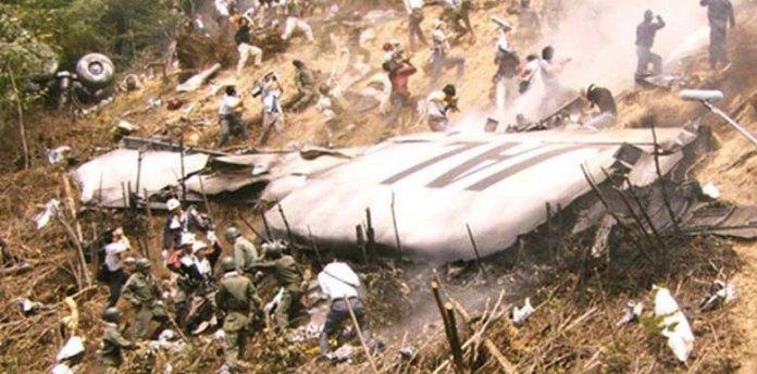 Avião que caiu, reapareceu misteriosamente no radar 35 anos depois