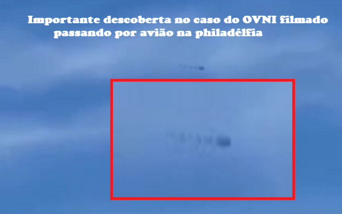 Descoberta sobre caso do OVNI que passou por avião na Filadélfia (EUA)