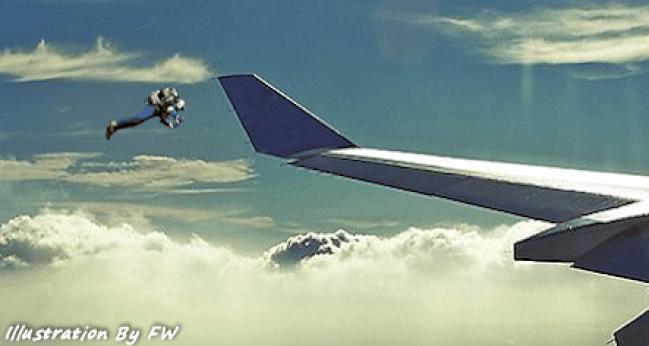 Homem voando em jetpack foi visto novamente nos céus de Los Angeles