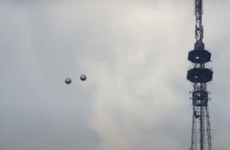 esferas alienígenas
