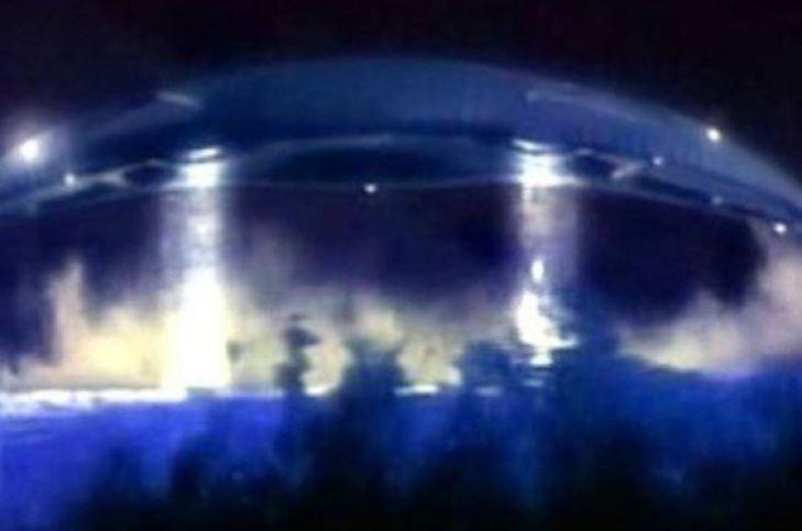 Um estranho encontro com OVNI na Itália