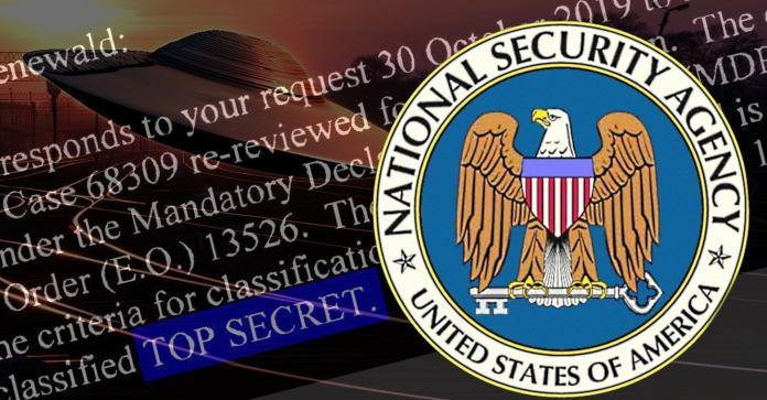 NSA nega acesso a documentos ultra-secretos de OVNIs - novamente