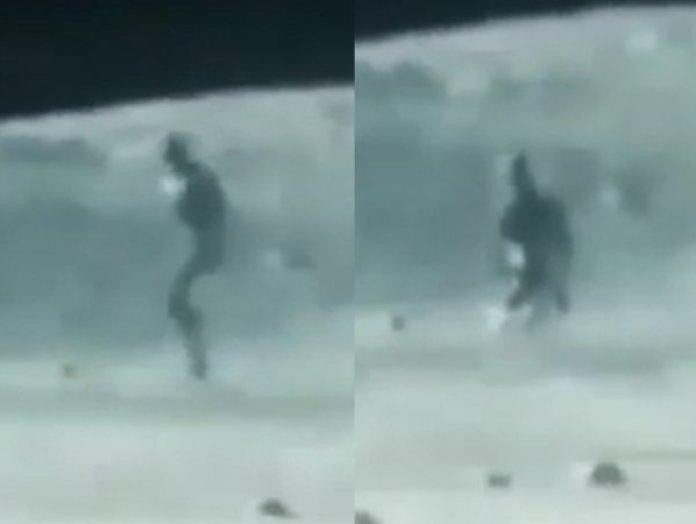 Teria o jipe-sonda lunar chinês fotografado um alienígena na Lua?