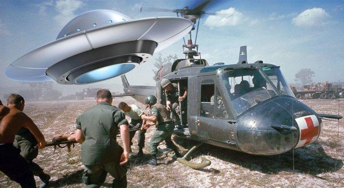 Forças especiais dos EUA combateram ETs na guerra do Vietnã