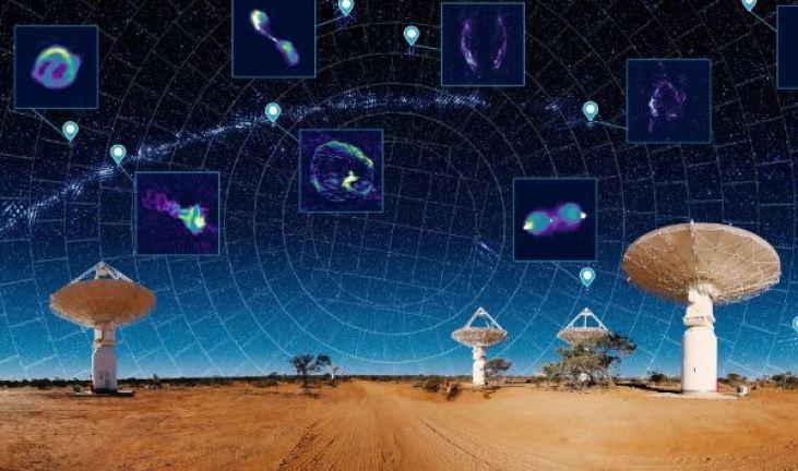Um milhão de novas galáxias são reveladas no novo mapa do Universo
