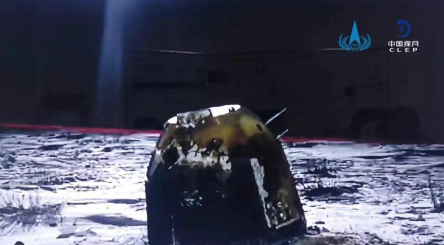 China se torna terceiro país do mundo a trazer para a Terra rochas da Lua
