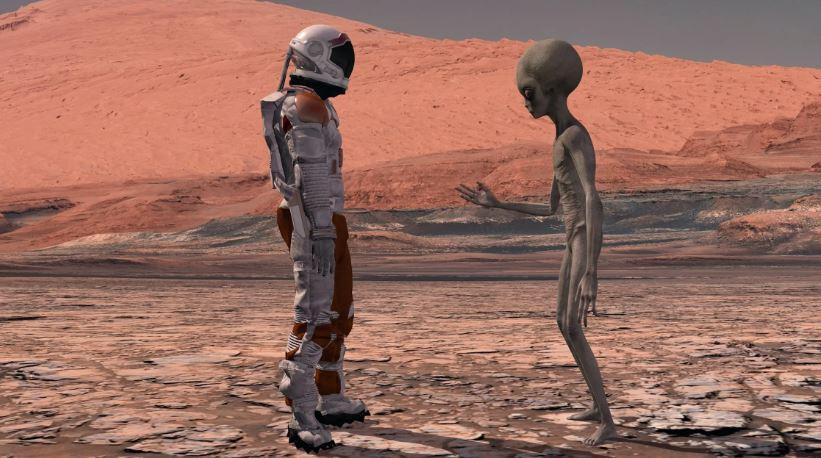 Como encontrar alienígenas em um ambiente seguro e não ameaçador?
