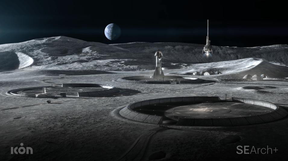 NASA busca avanços nos sistemas de construção de impressão 3D para a Lua e Marte