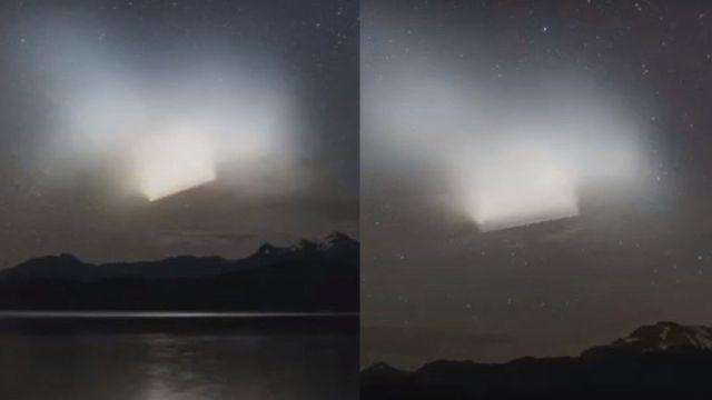 Luz misteriosa aparece no céu da Patagônia - NASA tem explicação