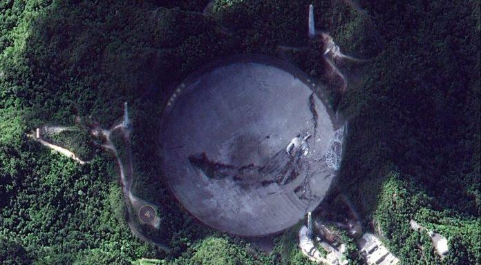 Boas novas: O radiotelescópio de Arecibo será reconstruído