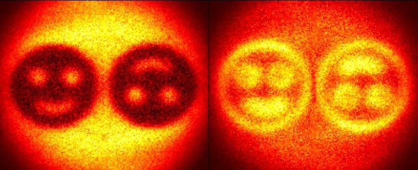 Físicos codificam informações em um holograma usando o salto quântico