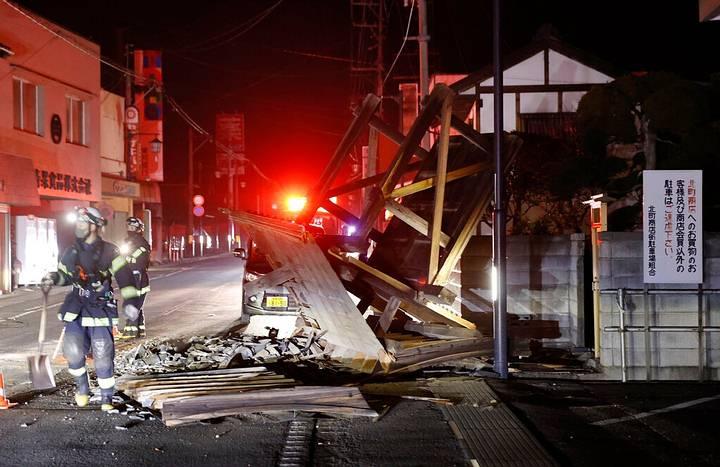 Terremoto de magnitude 7,1 com epicentro perto de Fukushima abala o Japão