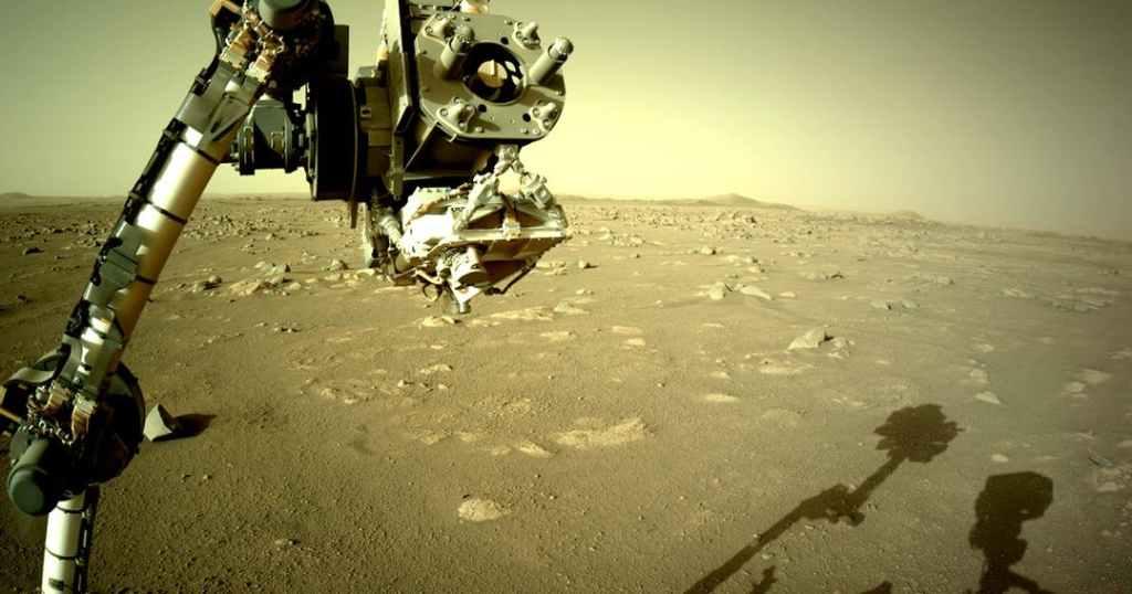Perseverance começa a procurar vida atirando lasers nas rochas marcianas