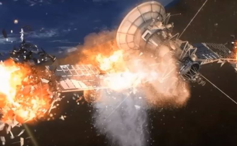 Dois satélites explodiram no espaço em circunstâncias misteriosas