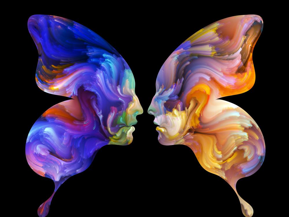 O processo de troca de almas em um universo repleto de vida