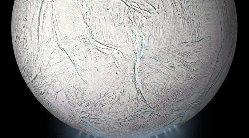 Oceano subterrâneo em Encélado, lua de Júpiter, está se agitando