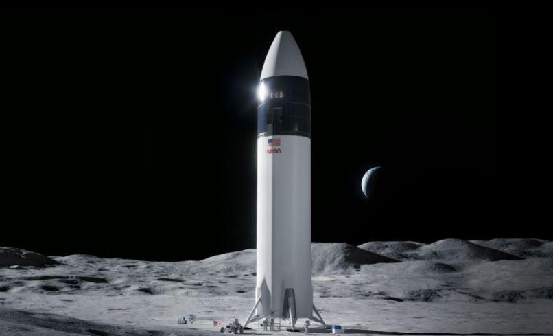 NASA escolhe a SpaceX para levar astronautas até a Lua
