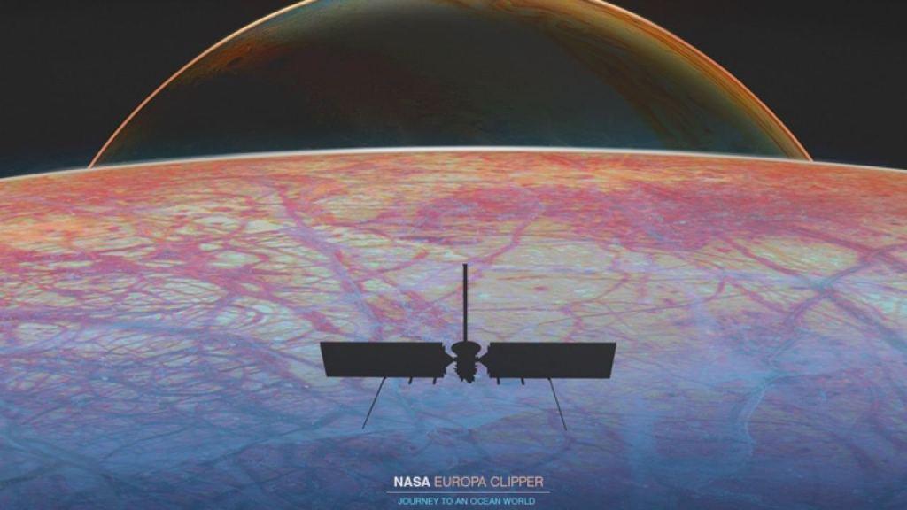 Oceano de lua de Júpiter abriga vulcões e potencialmente muita vida