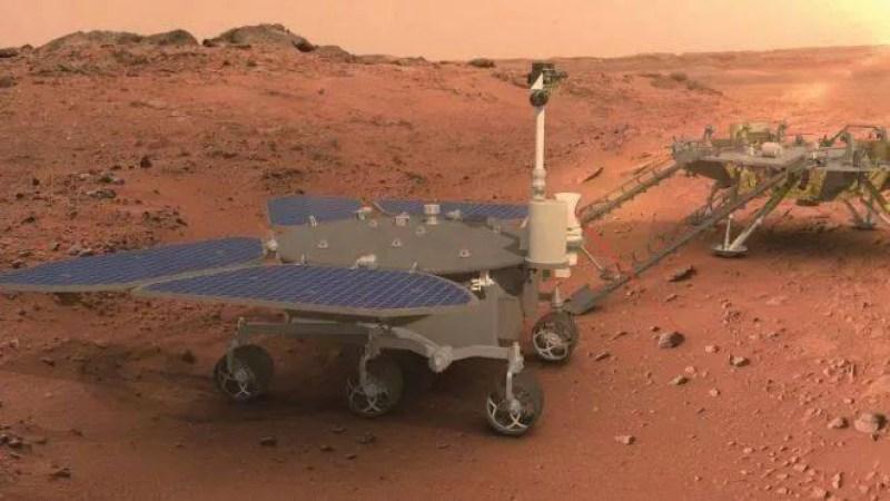 China se torna a segunda nação na história a pousar um jipe-sonda em Marte