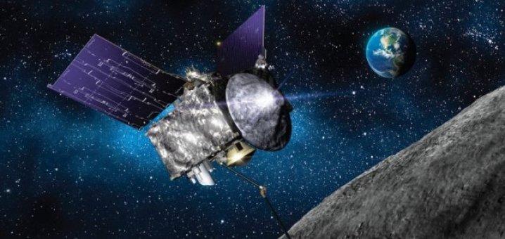 Sonda Osiris-Rex está retornando com amostras do asteroide Bennu