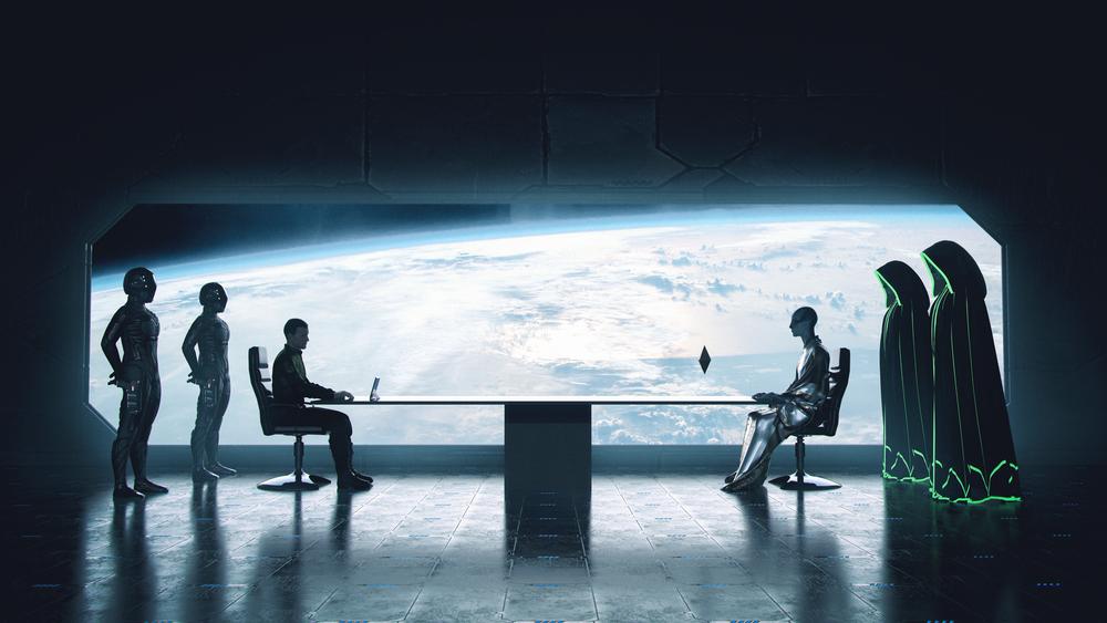 Como a humanidade pode conquistar o respeito pelos extraterrestres
