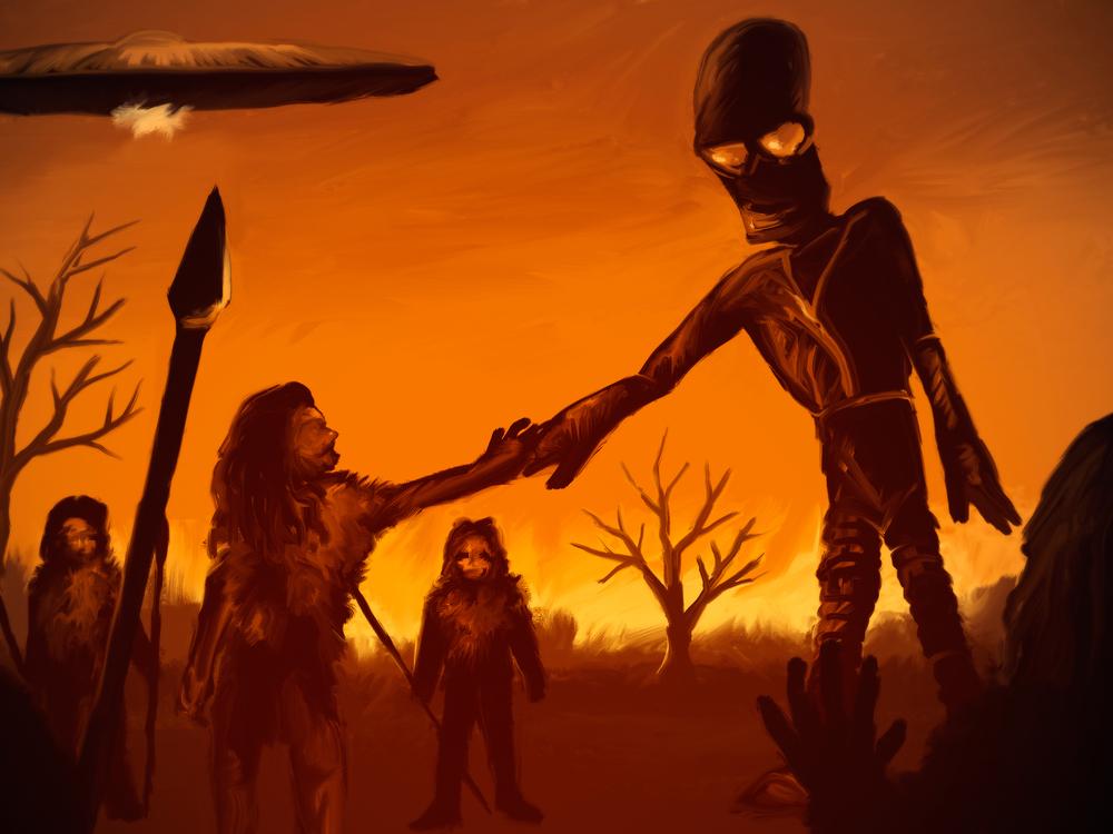 Os alienígenas são um espelho para a humanidade