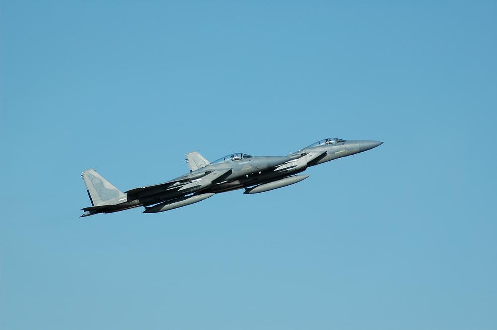 O bizarro incidente com OVNI e F-15s nos estados da Califórnia/Oregon