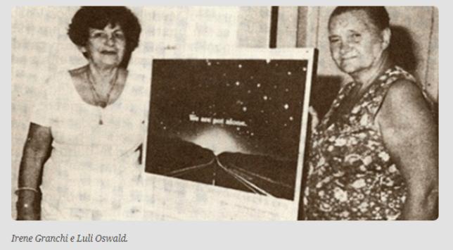 OVNIs Tic Tac e o caso Luli Oswald: Alguém precisa contar aos americanos
