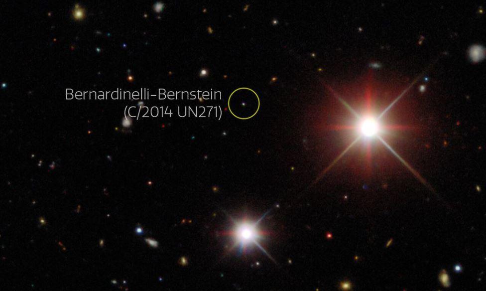 Cometa gigante vindo da Nuvem de Oort é visto em nosso sistema solar