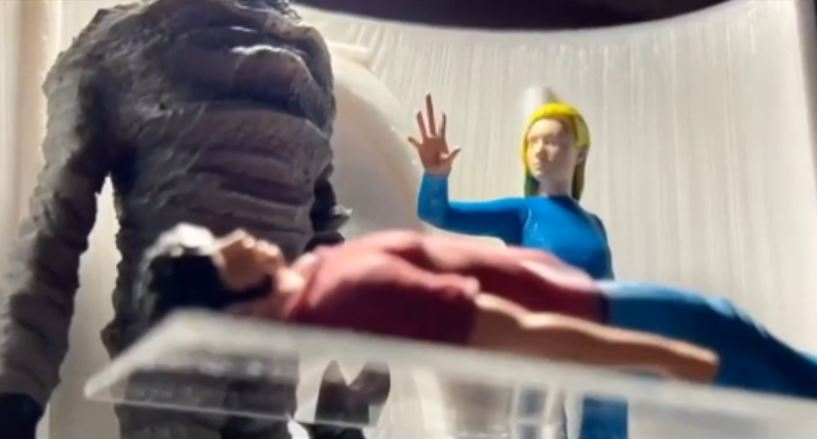 A mulher alienígena no centro da abdução de Pascagoula
