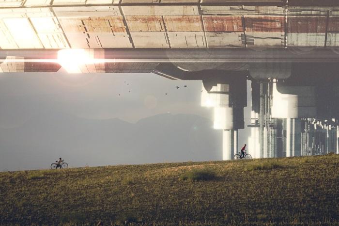Um encontro alienígena verdadeiramente surreal na Alemanha