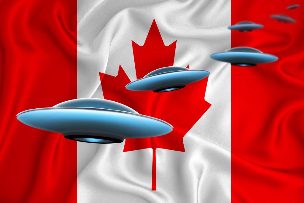 Jatos de passageiros e militar relatam ter visto um OVNI no Canadá