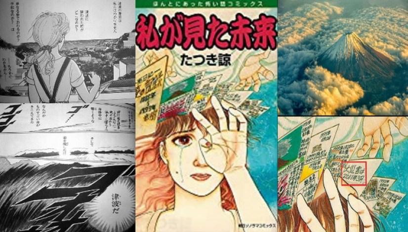 Ryo Tatsuki, artista de mangá, está em destaque por suas profecias assustadoras