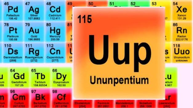 Seria o elemento 115 o segredo por trás da propulsão alienígena?