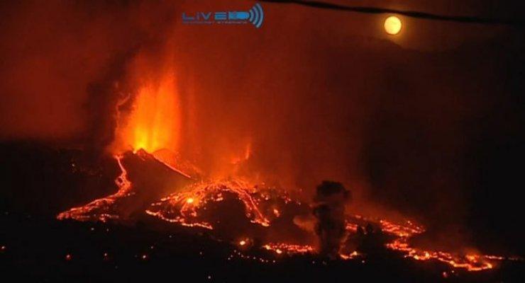 Atualização sobre a erupção do vulcão em La Palma